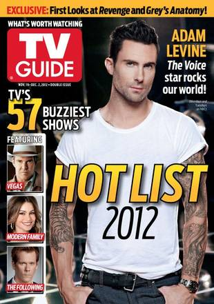 Adam Levine Is TV Guide Magazine's Latest (And Sexiest) Cover Boy! (PHOTO)