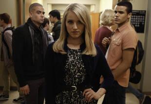 Santana Slaps Quinn! Glee's Best Freeze-Frame Ever (PHOTO)