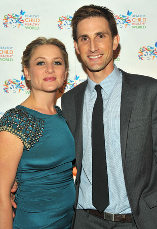 Jessica Capshaw and husband