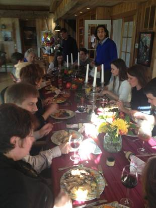 Who Did Countess LuAnn Spend Thanksgiving With This Year? You'll Be Surprised! (PHOTO)