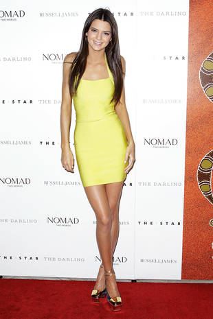 "Kim Kardashian Is ""Jealous"" of Kendall Jenner's Legs"