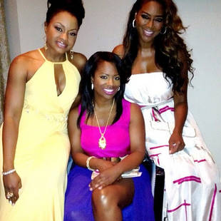 """Kenya Moore Hates Being Compared to Sheree Whitfield: """"You Can't Compare Me to Anybody Else!"""