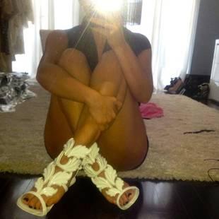 Kim Kardashian Models Kanye West's Sexy New Shoes For Giuseppe Zanotti: Hot or Not?