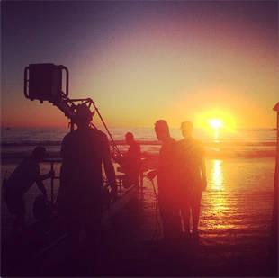 Glee's Naya Rivera Hits the Beach for a Hot Photoshoot
