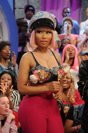 Oops! Nicki Minaj Flashes Her Nipple on Live Television
