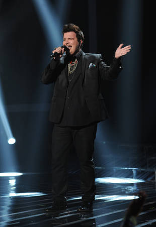 Eliminated X Factor Finalist Jason Brock: I Want to French Kiss Simon Cowell — Exclusive