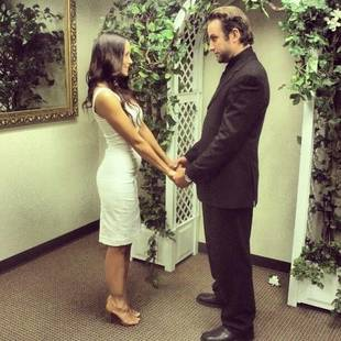 Which TV Game Show Host Just Got Married in Vegas?