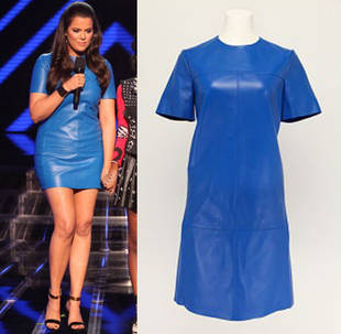 Khloe Kardashian's X Factor Leather Dress: Hot or Not?