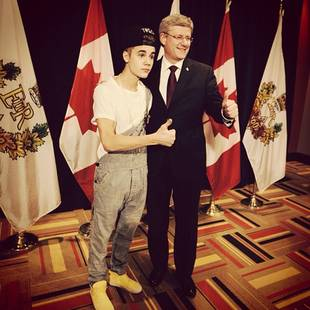 Justin Bieber's Overalls: Distinctly Biebs or Disrespectful? (POLL)