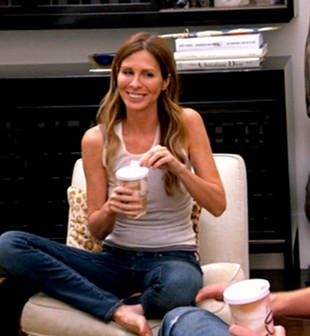 Which Real Housewife Did Carole Radziwill Spot on Her Flight?