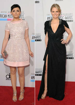 Ginnifer Goodwin vs. Jennifer Morrison: Which OUAT Star Looked Best at the AMAs? (PHOTOS)
