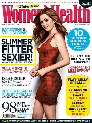 Isla Fisher Shares Two Post-Baby Slimming Secrets
