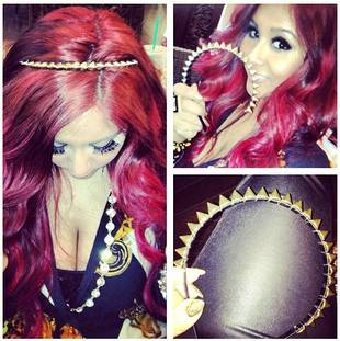 Snooki's Punky Spiked Headband: Hot or Not?