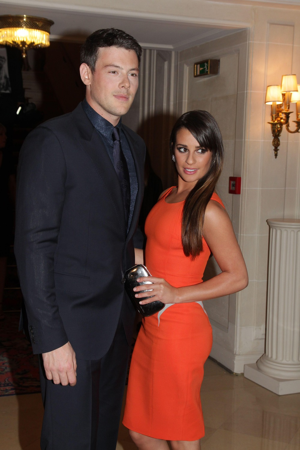 How Much Taller Than Lea Michele is Boyfriend Cory Monteith?