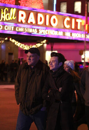 Glee's Kurt and Burt Hummel: Together and Adorable in New York City (PHOTOS)