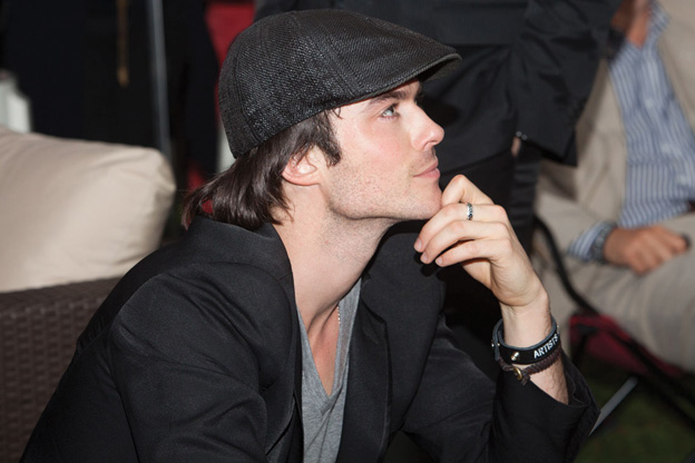 Ian Somerhalder Talks 50 Shades of Grey, Who He'd Never Date, and How to Be Charitable