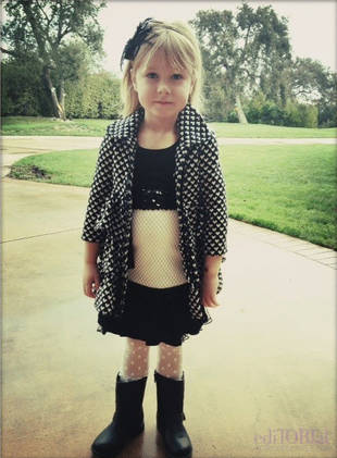 Tori Spelling's 4-Year-Old Daughter Has More Fashion Sense Than Most Of Us