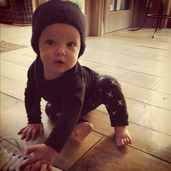 Hilary Duff's Baby Is Growing Up Fast! We Gush Over Luca Cruz Comrie (PHOTO)