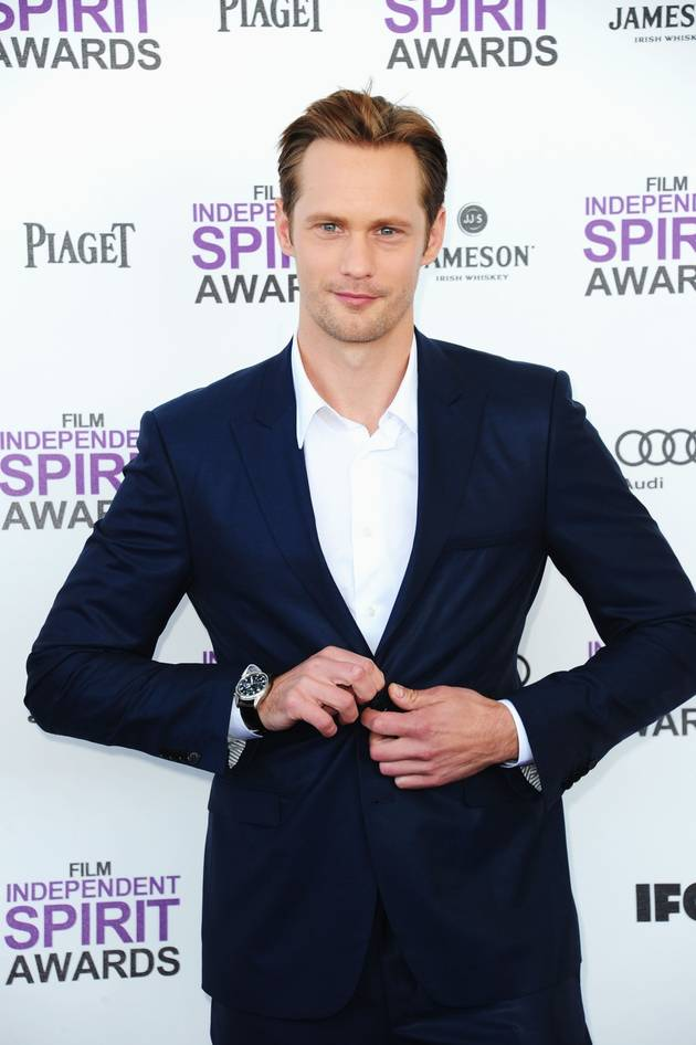 "Alexander Skarsgard on Fifty Shades of Grey: ""I Have a Sex Chamber in My Basement … So I've Had Training"""