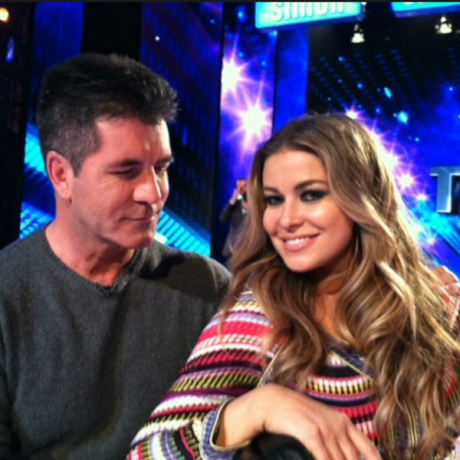 Are The X Factor's Simon Cowell and Carmen Electra Dating?