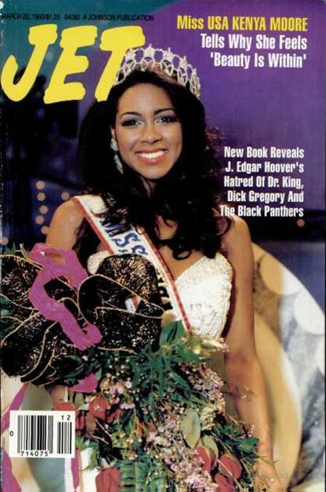 See Kenya Moore on the Cover of JET Magazine … in 1993! (PHOTOS)