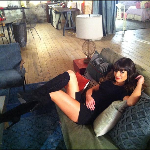 Glee Season 4: Rachel Berry's New Look Keeps Getting Sexier! (PHOTO)