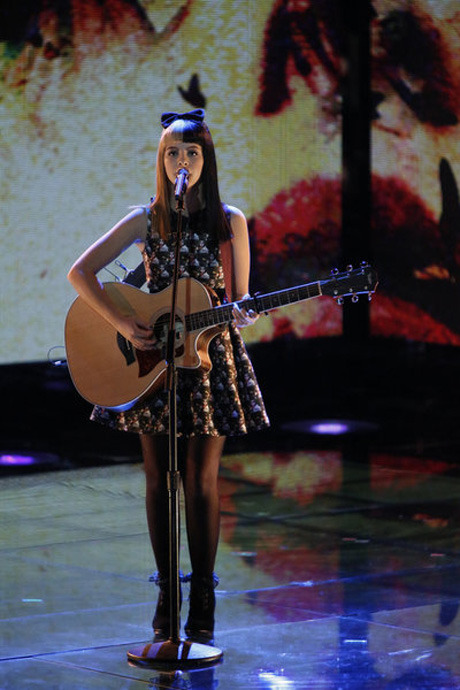 "Watch Melanie Martinez Sing The White Stripes' ""Seven Nation Army"" on The Voice Season 3 Live Rounds, Nov. 19, 2012 (VIDEO)"