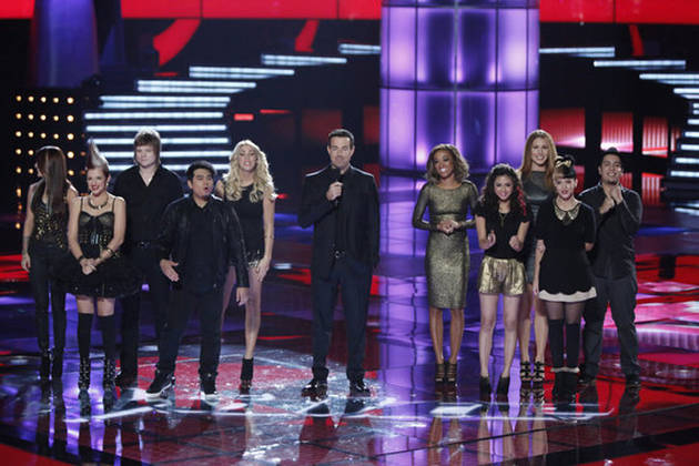 Who Had the Best Performance of the Night on The Voice Season 3 Live Show Playoffs, Nov. 5, 2012?