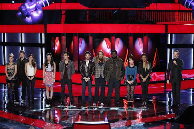 Who Got Eliminated on The Voice Season 3 Live Results Show on Nov. 13, 2012?