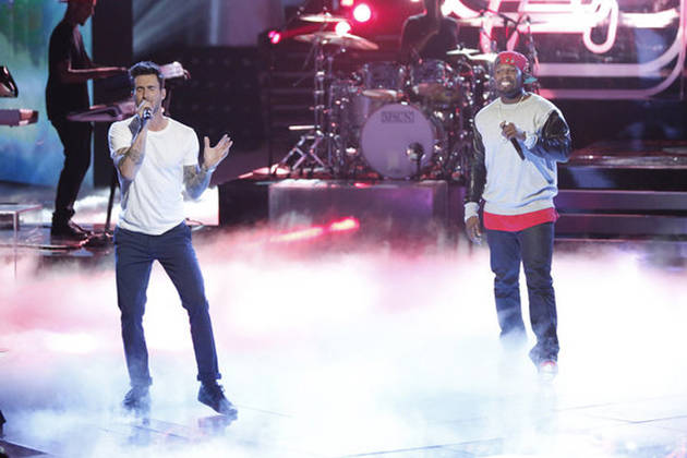"""Watch 50 Cent and Adam Levine Perform """"My Life"""" on The Voice Season 3 Live Show, Nov. 26, 2012 (VIDEO)"""