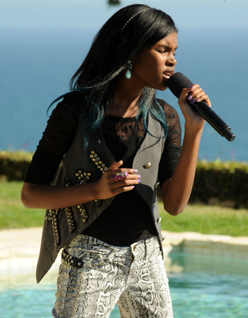 X Factor Finalist Diamond White Is Back! The Top 12 Becomes Top 13