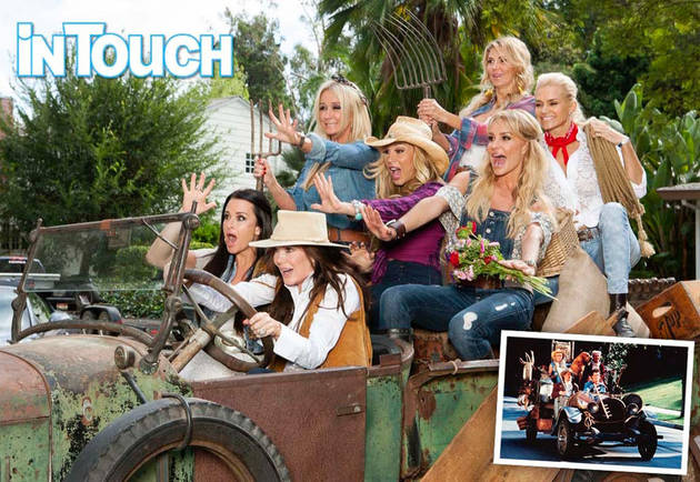 The Real Housewives Get Goofy in a Beverly Hillbillies-Themed Photoshoot (PHOTOS)