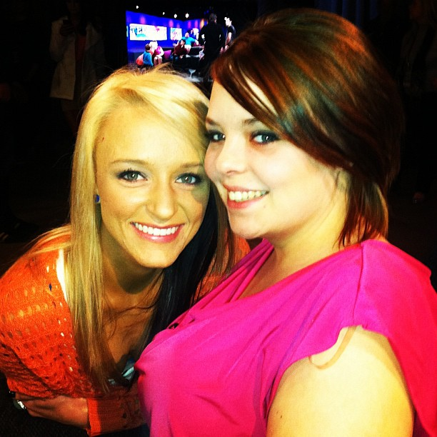 "Maci Bookout and Catelynn Lowell Team Up With MTV to ""Restore The Shore"""