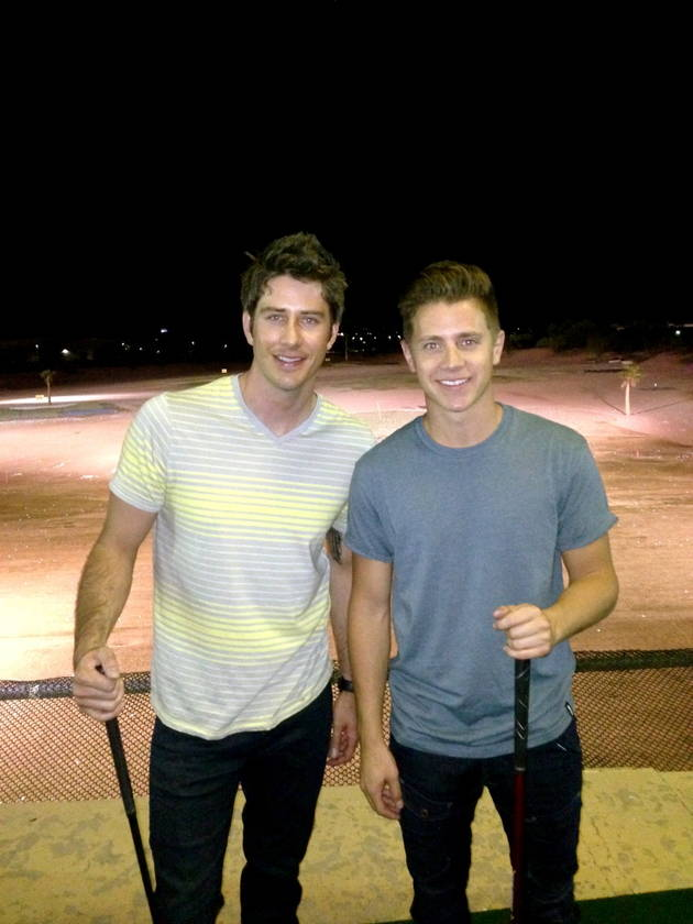 Bachelorette Alums Jef Holm and Arie Luyendyk, Jr. Take Their Bromance to the Movies!