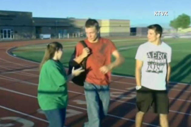 High School Jocks Befriend Special Needs Girl to Stop Students From Bullying Her (VIDEO)