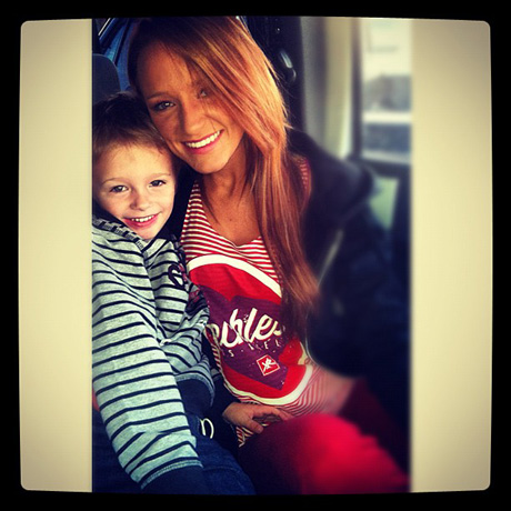 Maci Bookout and Bentley Are Stars in Stripes! (PHOTO)