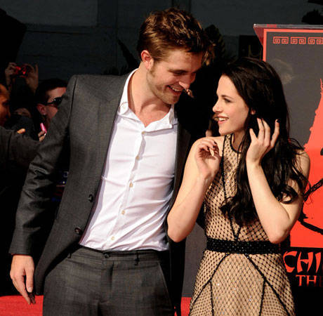 "Robert Pattinson Grabs Kristen Stewart's Butt at a Party — So She Tells Him, ""Don't Kiss Me!"""