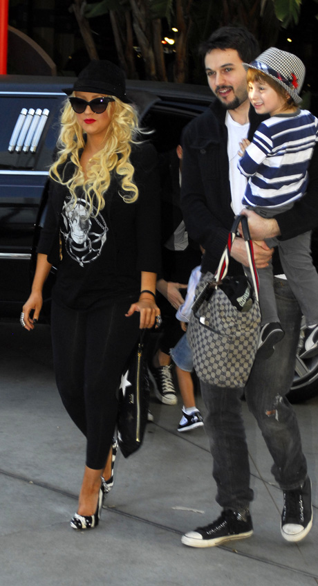 When Did Christina Aguilera Have Her Son?