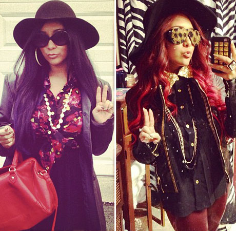 Does Snooki Look Better As a Brunette or a Red-Head? You Tell Us (PHOTO)