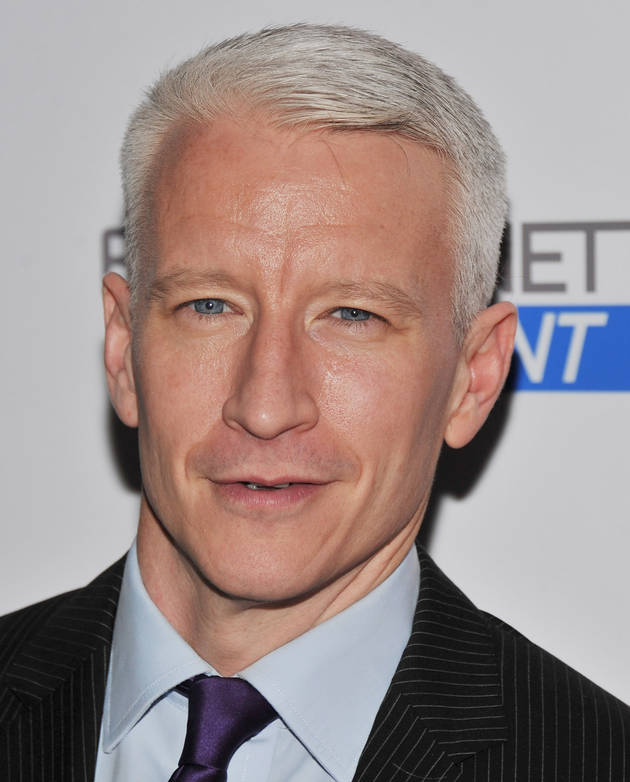 Anderson Cooper Wears Same Fancy Jeans Every Day, Almost Never Washes: Gross or OK?