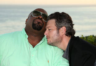 Blake Shelton Will Dress Like Cee Lo Green if His Team Is in the Top 2 (VIDEO)
