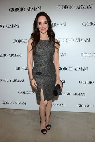Revenge's Madeleine Stowe Rocks a Daring Slit at the Giorgio Armani Luncheon (PHOTO)