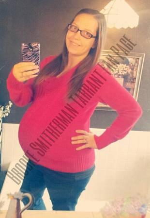 Pregnant Brooke Smitherman-Tarrant Shows Off Baby Bump at 37 Weeks! (PHOTO)
