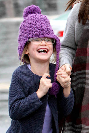 Violet Affleck Loses Her Two Front Teeth — Adorable Alert! (PHOTO)