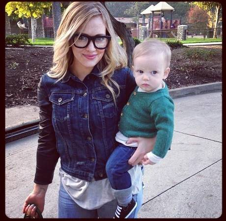 Hilary Duff Considers Making Son Luca Her Only Child