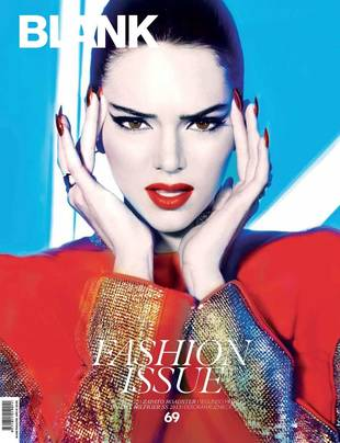 Kendall Jenner Stuns in Red on the Cover of Blank Magazine (PHOTO)