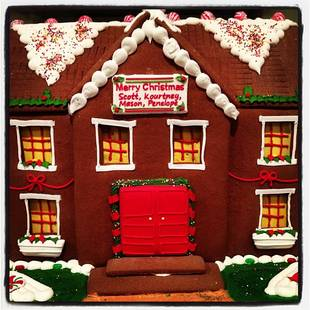 Kourtney Kardashian Shows Off Her Massive Gingerbread House: Cute Pic of the Day