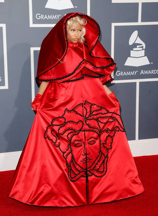Nicki Minaj Lands on The Daily Mirror's Worst Dressed of 2012 List