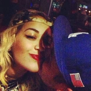 Rob Kardashian Kisses Rita Ora in Twitpic: Are They Officially Dating? (PHOTO)