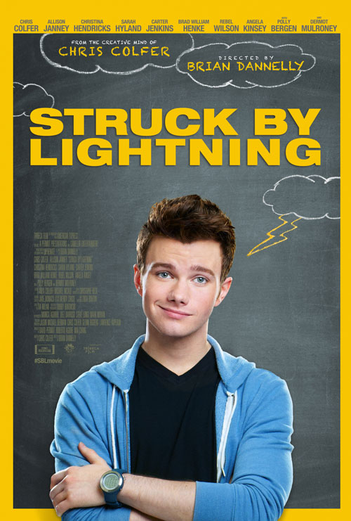 Chris Colfer's New Film Struck By Lightning: Is It Anything Like Glee?